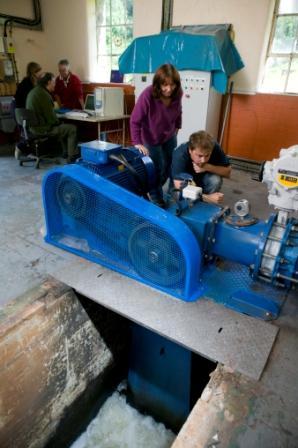 Talybont Turbine in action