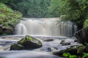 Blaen-y-Glyn waterfalls
