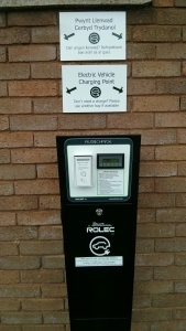 Talybont Electric Vehicle Charge Point