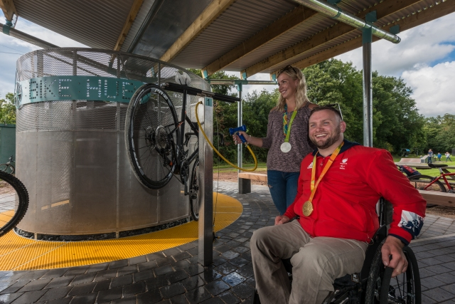 Henderson Hall Bike Hub Launch