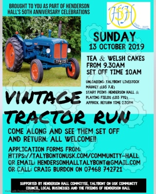 Tractor Run poster